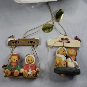 Cherished Teddies #68703 3rd issue swing ornaments